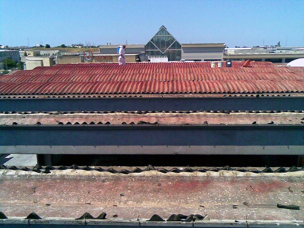 Esperti ambientali che effettuano bonifica amianto Ragusa, in Sicilia