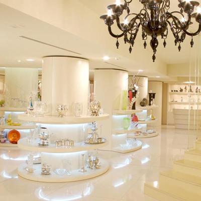 Design di illuminazione per l'arredamento per gioiellerie