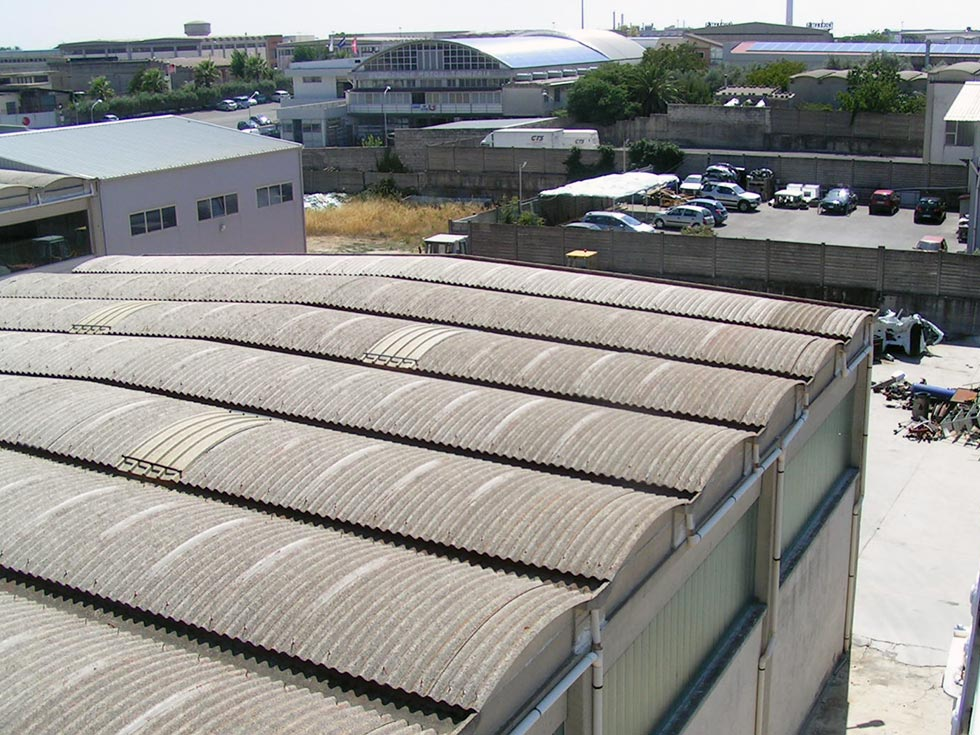 Smaltimento amianto Ragusa presso azienda industriale in SIcilia