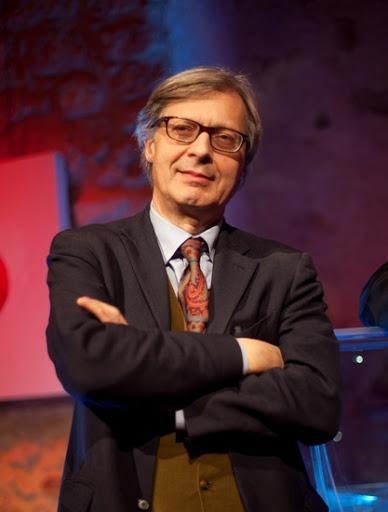 Vittorio Sgarbi, critico d'arte e commentatore TV